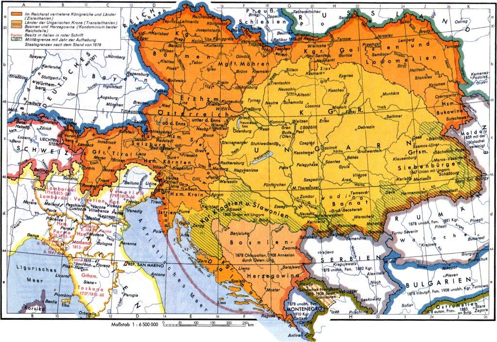 Karte Von Europa 1914.Seiteninhalt